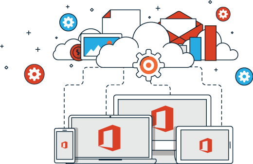 Office 365 illustration
